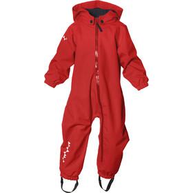 Isbjörn Hardshell Jumpsuit - Enfant - rouge
